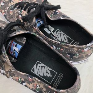b5741ac969557 Vans Shoes - Vans x Nintendo Duck Hunt Camo Skate Shoes